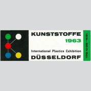 Kunststoffe Düsseldorf, 1963