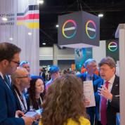 Insgesamt 66 Unternehmen präsentierten in Atlanta auf einem rund 1.300 m² großen Gemeinschaftsstand technische Textilien, Vliesstoffe...