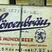Deutsche Industrieausstellung in Kairo 1957 – Löwenbräu für das Ausstellungsrestaurant © IMAG