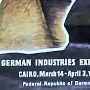 Plakat zur Deutschen Industrieausstellung in Kairo 1957 – © IMAG