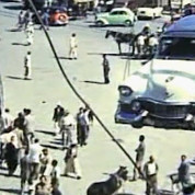 Deutsche Industrieausstellung in Kairo 1957 – Landung in Alexandria – © IMAG