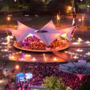 Der Tanzbrunnen im Rheinpark in Köln - Foto: KölnKongress