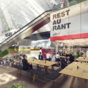 Deutscher Pavillon: Das Restaurant