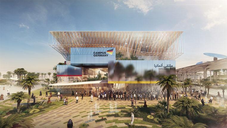 Der Deutsche Pavillon auf der EXPO 2020 DUBAI (Animation) Foto © Koelnmesse