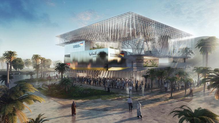 Der Deutsche Pavillon auf der EXPO 2020 DUBAI (Animation)