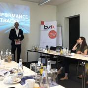 Begrüßung durch Rainer Pfeil, Vorstand bvik