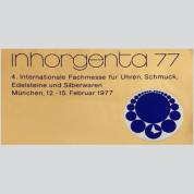 Inhorgenta, München 1977