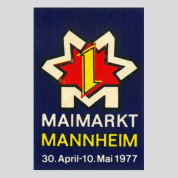 Maimarkt Mannheim, 1977