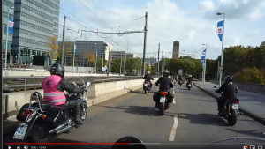 Motorrad-Gottesdienst im Kölner Dom und Rallye zur Intermot