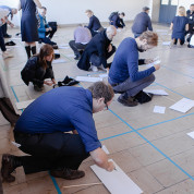 Kreativ-Workshop im Flughafen Berlin-Tempelhof