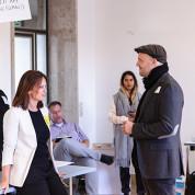 Kreativ-Workshop im Flughafen Berlin-Tempelhof: Kreative Auszeit für Messemacher