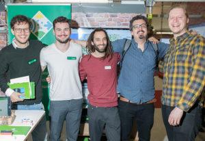 Mit drei Festangestellten und zwei Werkstudenten beteiligt sich das Start-up Reedu GmbH in diesem Jahr an fünf Messen.