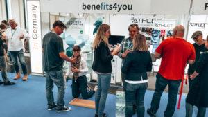 Benefits4you auf der FIBO Global Fitness 2019. Foto: KoelnMesse