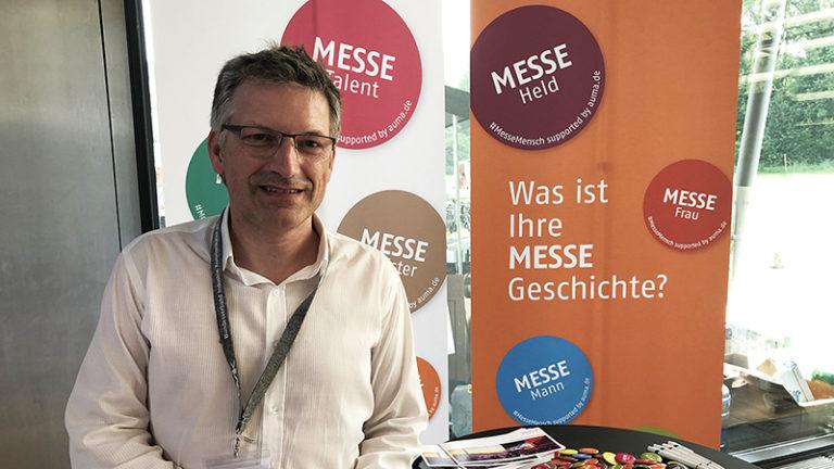 Thomas Schlegel auf dem Tag der Industriekommunikation am 27. Juni 2019 in Fürstenfeldbruck. Foto © AUMA